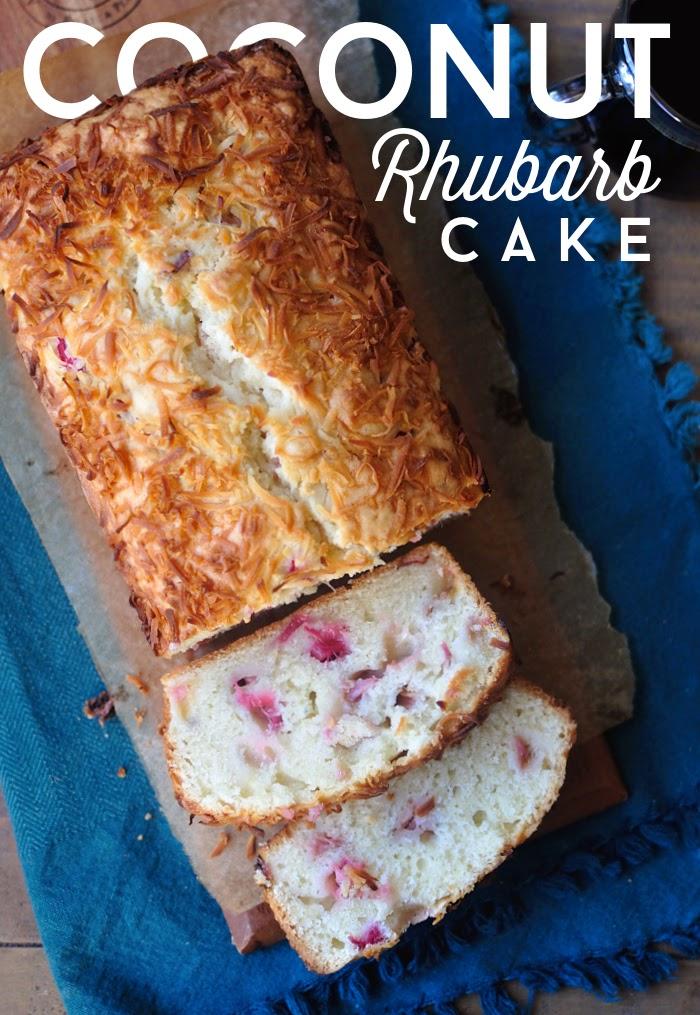 Rhubarb Loaf Cake Recipe Pureed Rhubarb