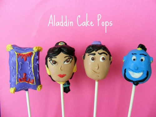 Aladdin Cake Pops