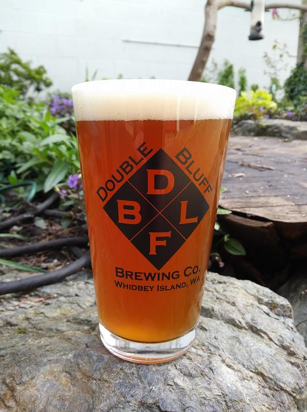 Double Bluff Brewery Beer