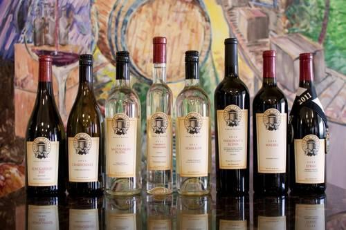 Wines from Walla Walla Community College
