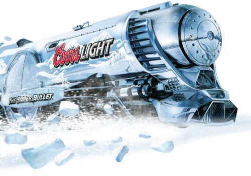 Foodista coors light encourages extreme beer chilling coors light aloadofball Images