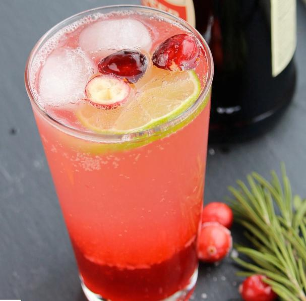 Holiday Mule Mocktail