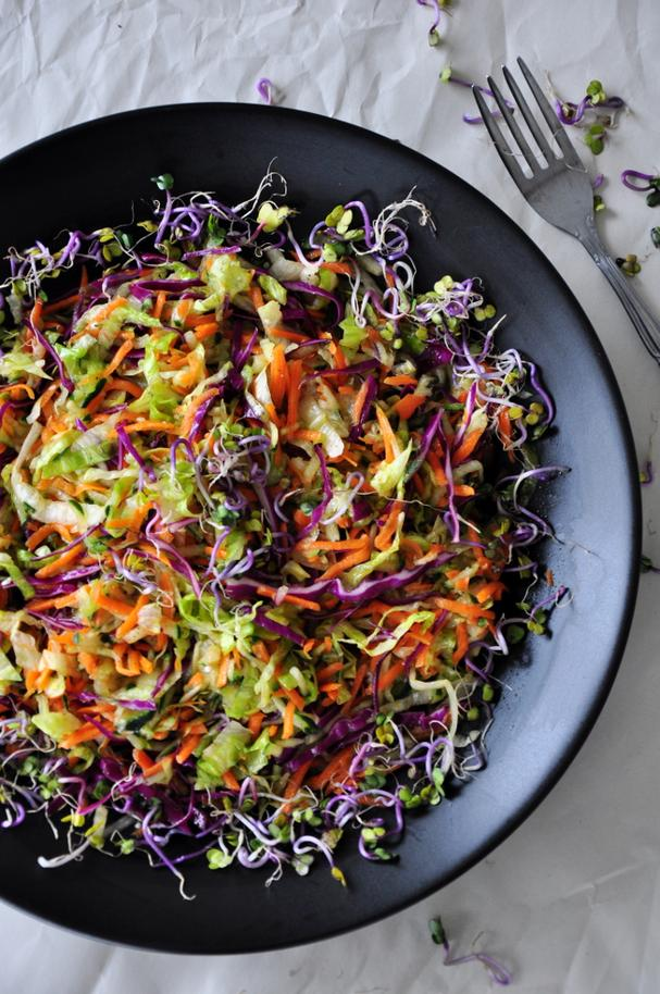 Hearty Vegetable Slaw