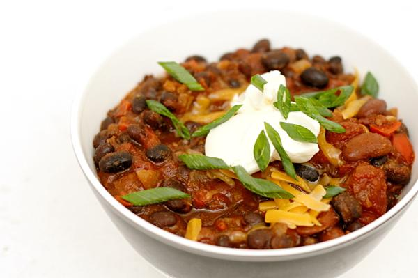 Foodista | 5 Delicious Vegetarian Chili Recipes for Meatless Monday