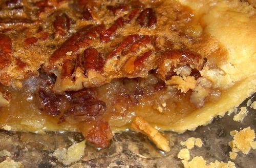 Chocolate Cranberry Pie