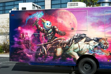Jack in the Box Munchie Mobile - Detail