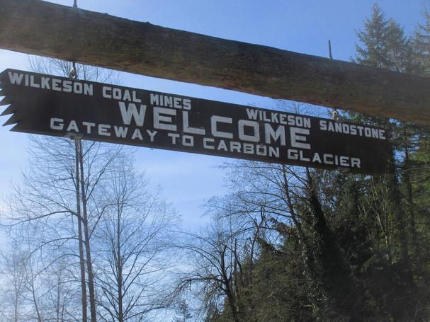 Wilkeson Foothills Trail Mt Rainier