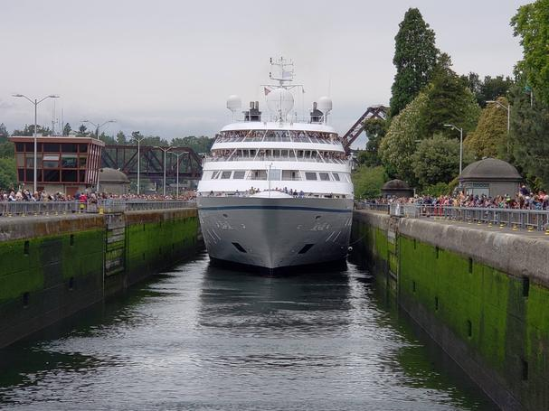 Windstar Cruises Seattle Locks