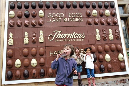 chocolate billboard