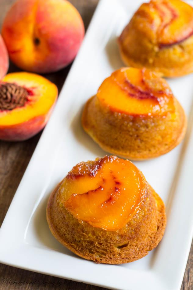 Peach Crumble Using White Cake Mix