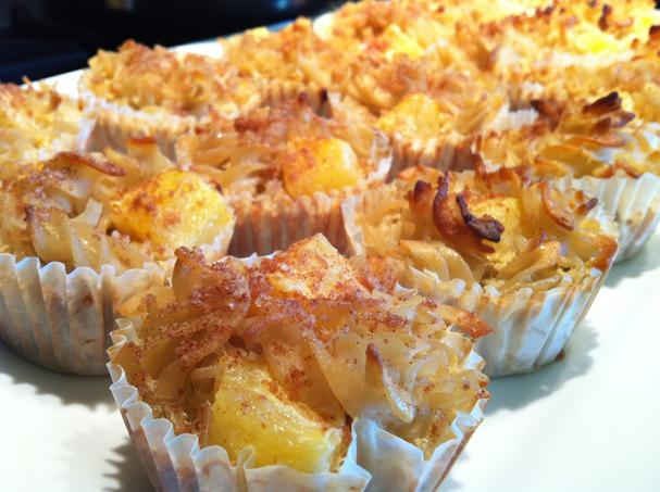 Noodle Kugel with Pineapple