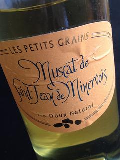 dessert wine muscat de saint jean de minervois