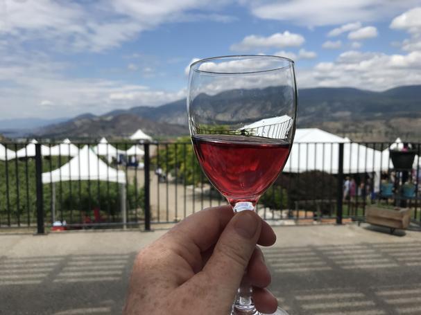 Shades of Pink wine seminar