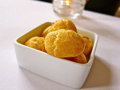 Easy Cheese Puffs (gougeres)