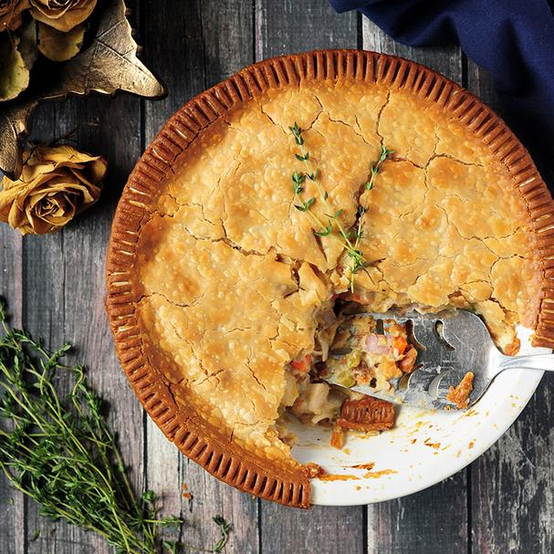 Chicken pot pie'