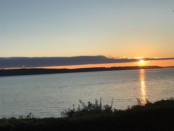 Sunset Camano Island