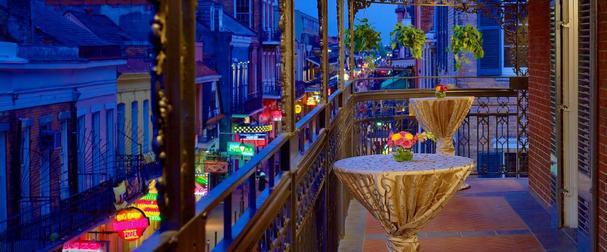 Balcony from Royal Sonesta Hotel