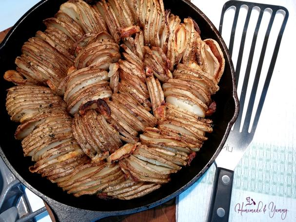 Crispy Cast Iron Potatoes