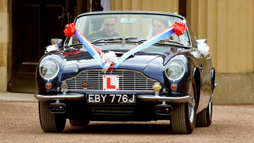 Permalink to Aston Martin Wedding Car Hire Doncaster