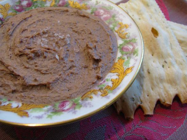 Brandy-spiked Chicken liver pate