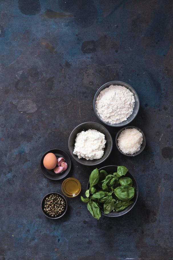 Fried Ricotta Dumpling ingredients