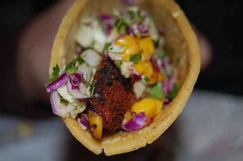 Blackened Mahi Mahi Fish Taco