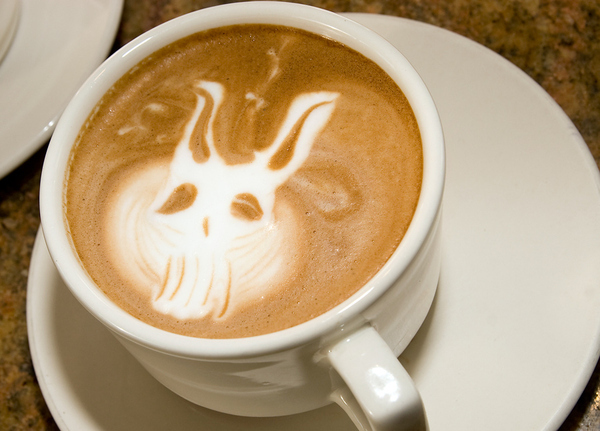 Frank Donnie Darko Coffee Art