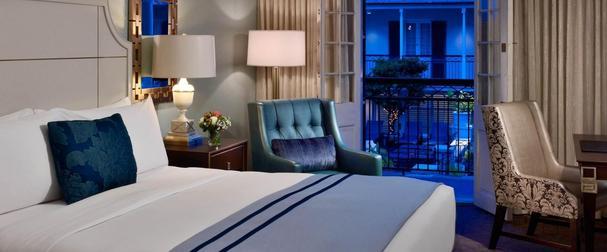 Bedroom at Royal Sonesta