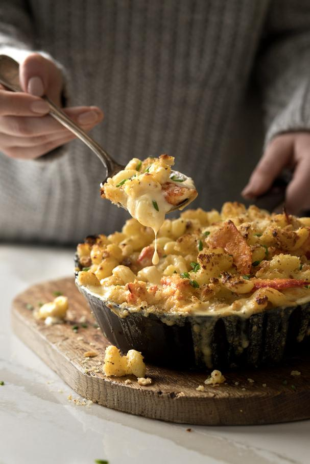 Decadent Lobster Mac and Cheese