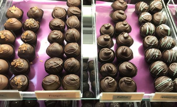 Chocolate truffles from Chocolate Necessities