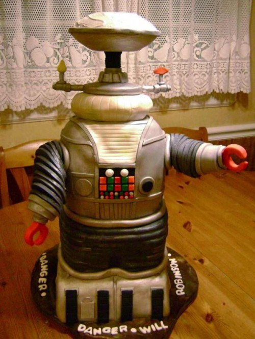 lost in space robot cake