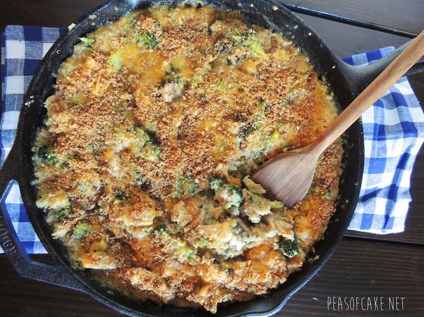 Cheesy Chicken and Vegetable Quinoa Bake