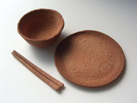 edible tableware