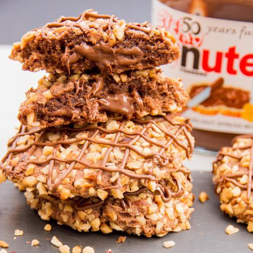 Nutella Flourless Chocolate Cake