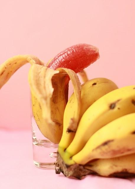 Strawberry Banana fruit jelly