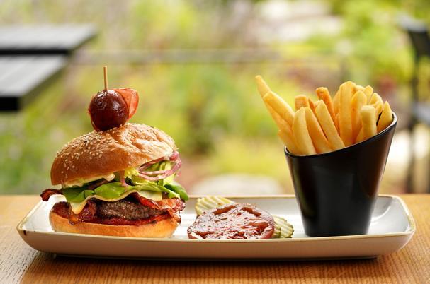 Copperleaf Restaurant Burger