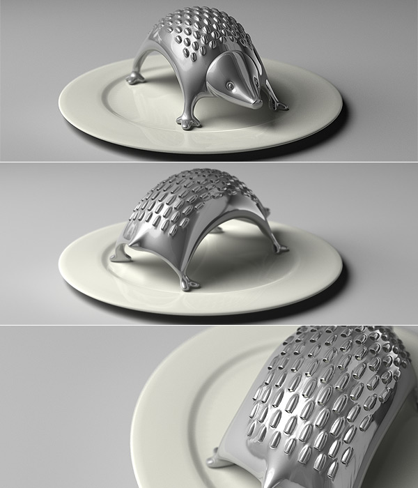 scratch my back hedgehog grater