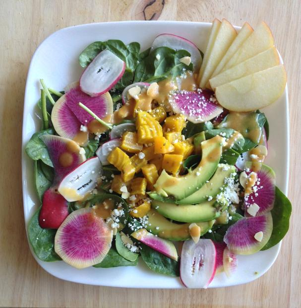 Spring Salad with Radishes and Beets